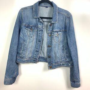 American Eagle jeans jacket women's size XL